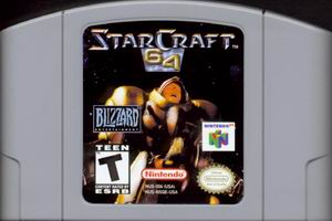 StarCraft 64 (USA) Cart Scan